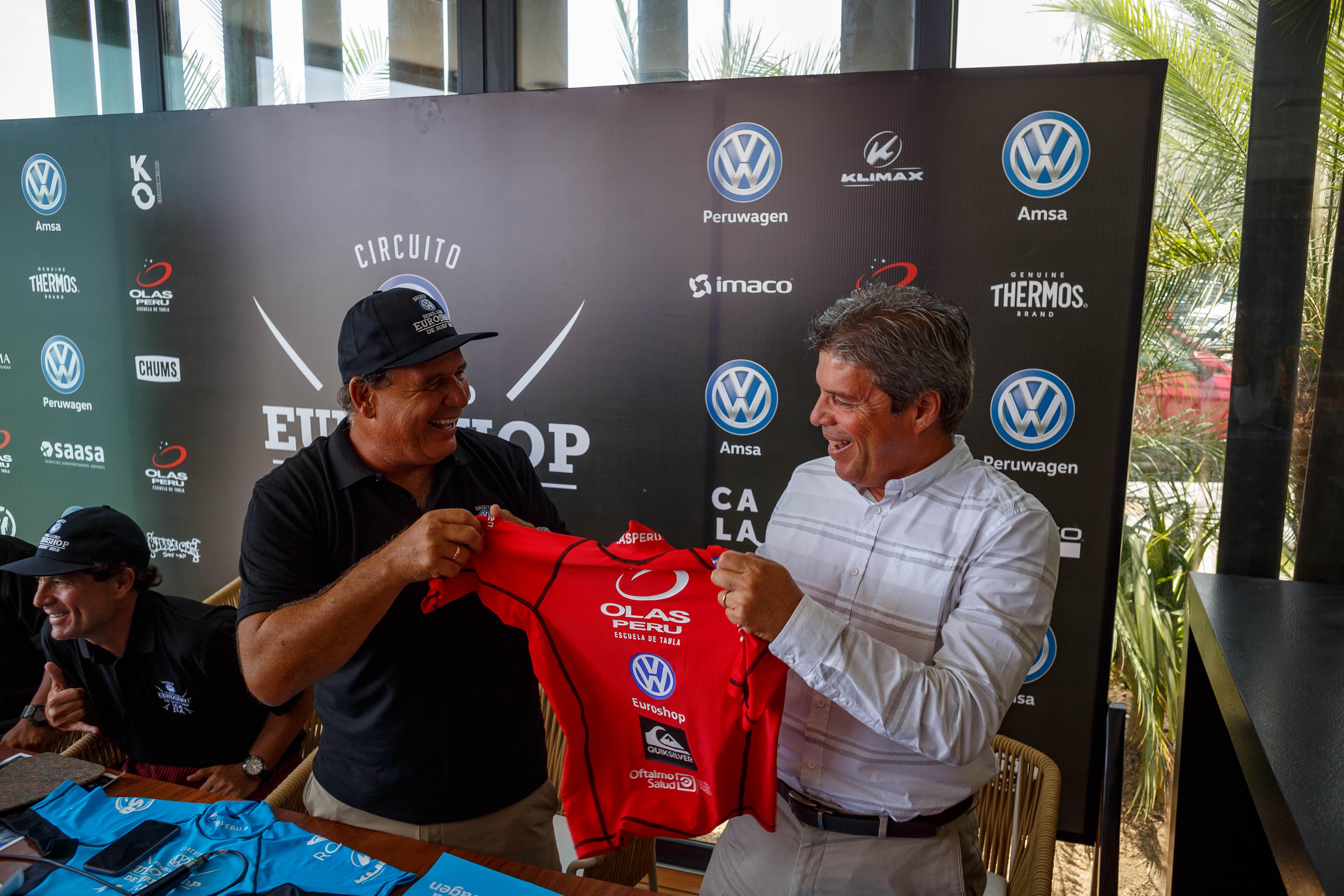 Conferencia de prensa: Circuito Semillero VW Euroshop de Surf 2019