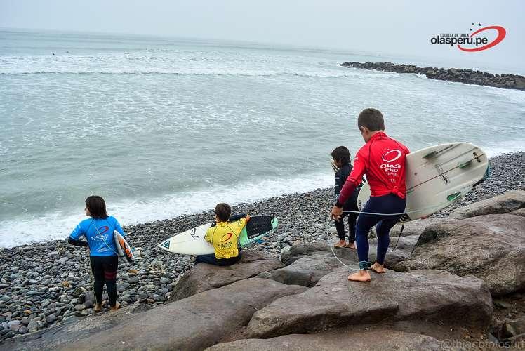 Semillero de Tabla Olas Perú / Detrás de Escena