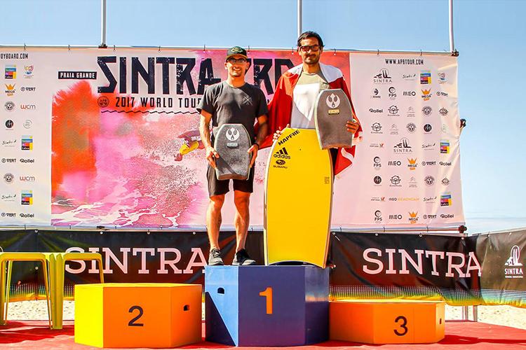 Cesar Bauer tercer puesto en mundial de Dropknee en Portugal