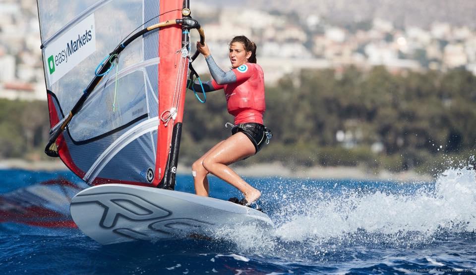 María Belén Bazo novena en Mundial de Windsurfing en Japón