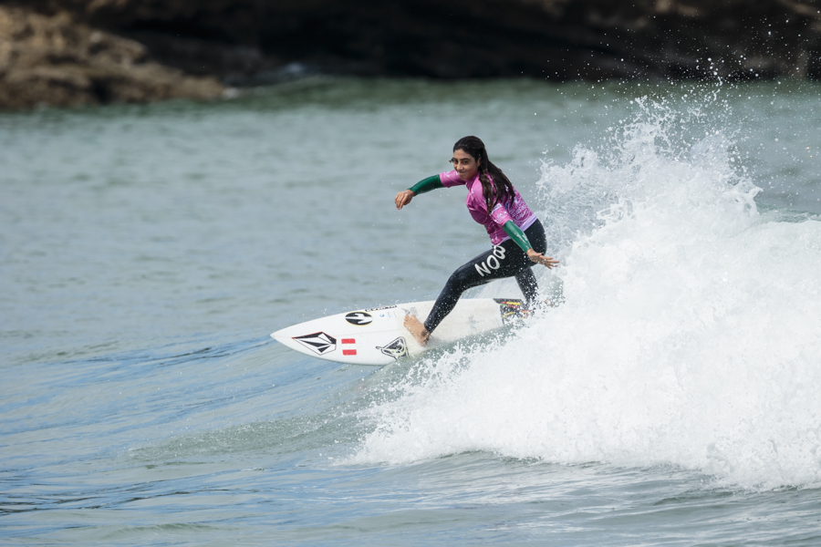 Daniella Rosas a un paso de la gran final en mundial Junior de Japón