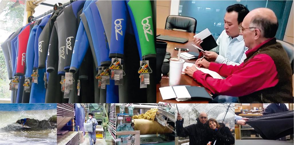 Turno innovador: la nueva propuesta de Wetsuits Boz