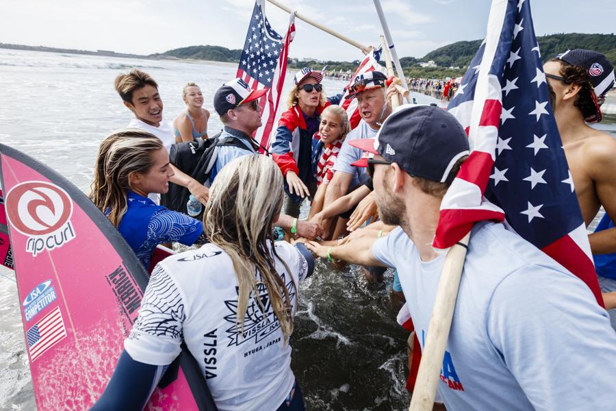 Estados Unidos se llevó el mundial Junior de la ISA 2017. Perú puesto 12