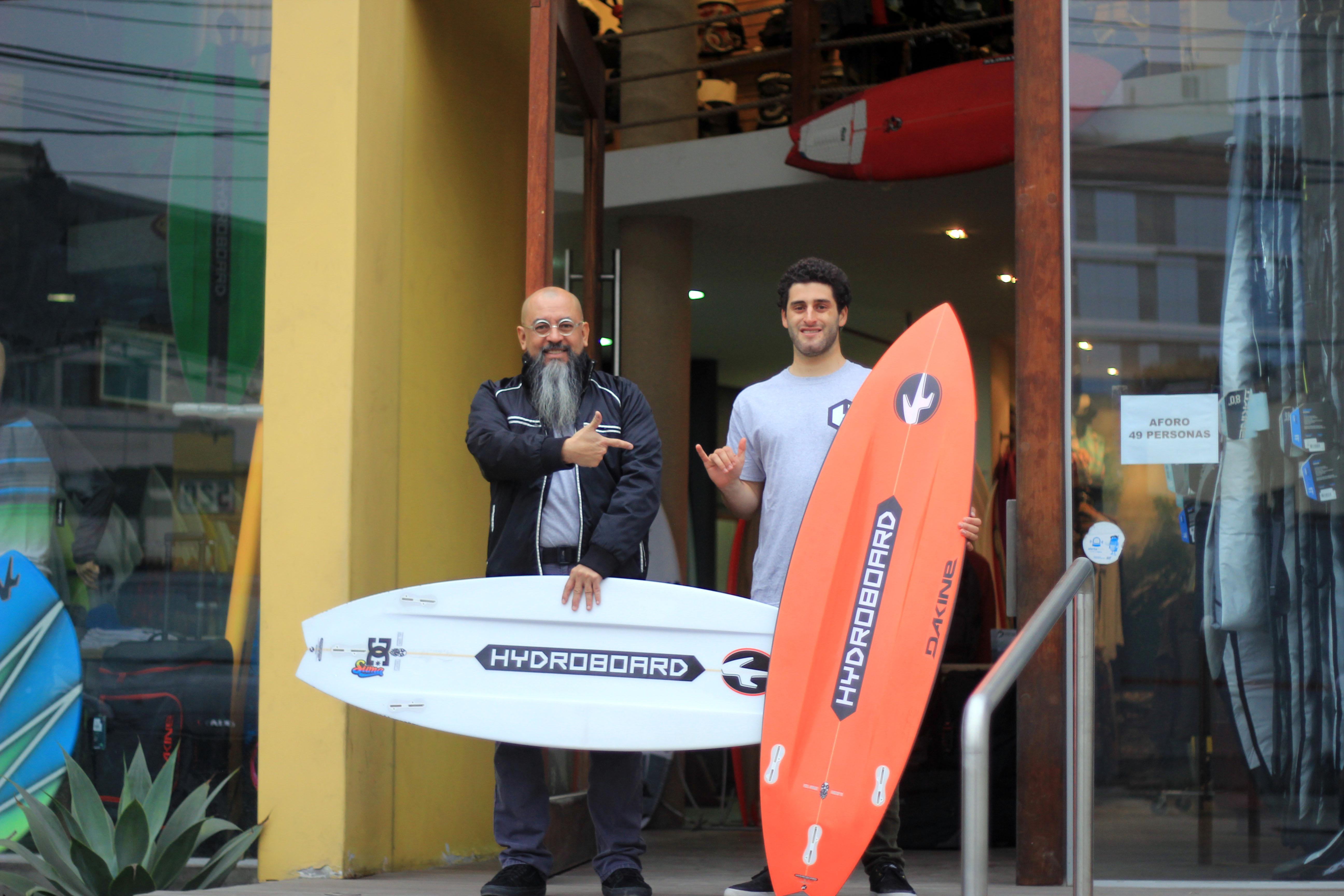 Sebastián Correa te explica las bondades de sus Hydroboard