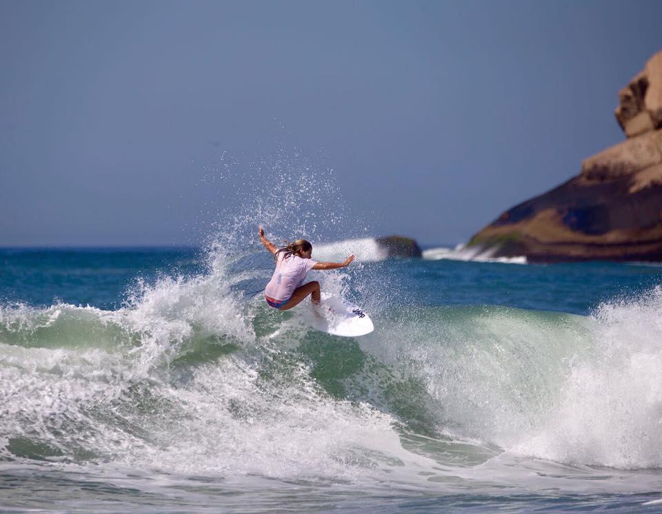 Este fin de semana se corona a la campeona sudamericana de la World Surf League en San Bartolo