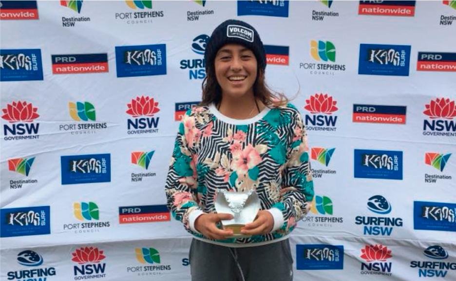 2do puesto para Daniella Rosas en torneo Junior de Australia
