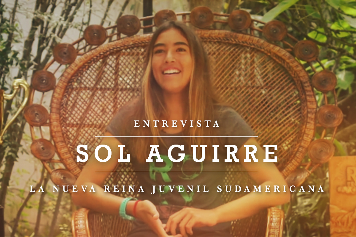 ENTREVISTA: Sol Aguirre, la nueva reina juvenil sudamericana
