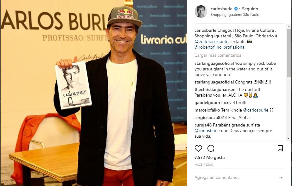 """[LA OLA CULTA]: """"Carlos Burle-profesión: surfista"""""""