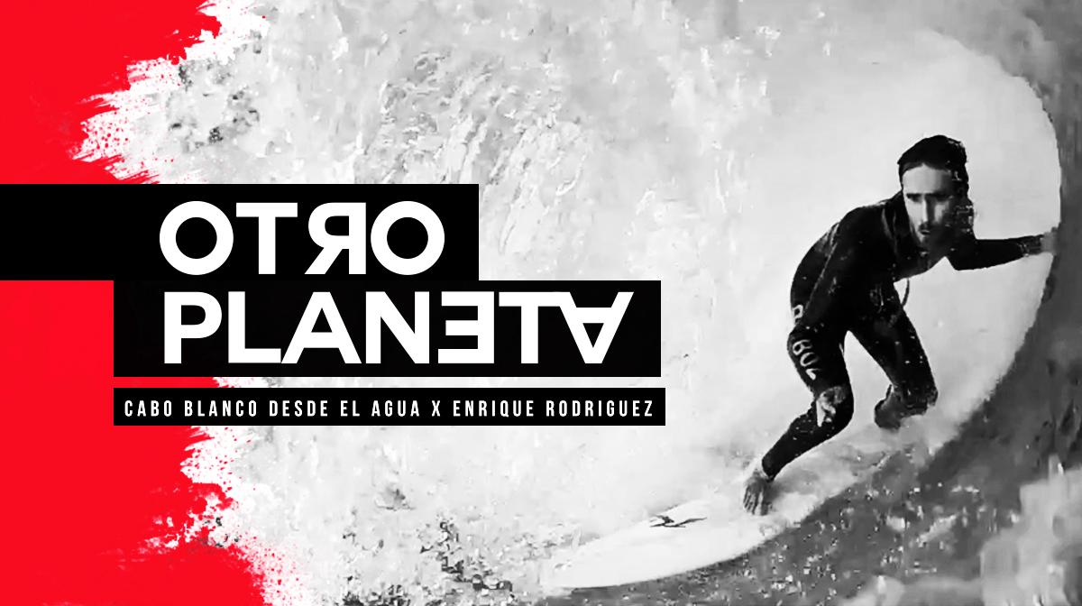 OTRO PLANETA - Cabo Blanco desde el agua x Enrique Rodriguez
