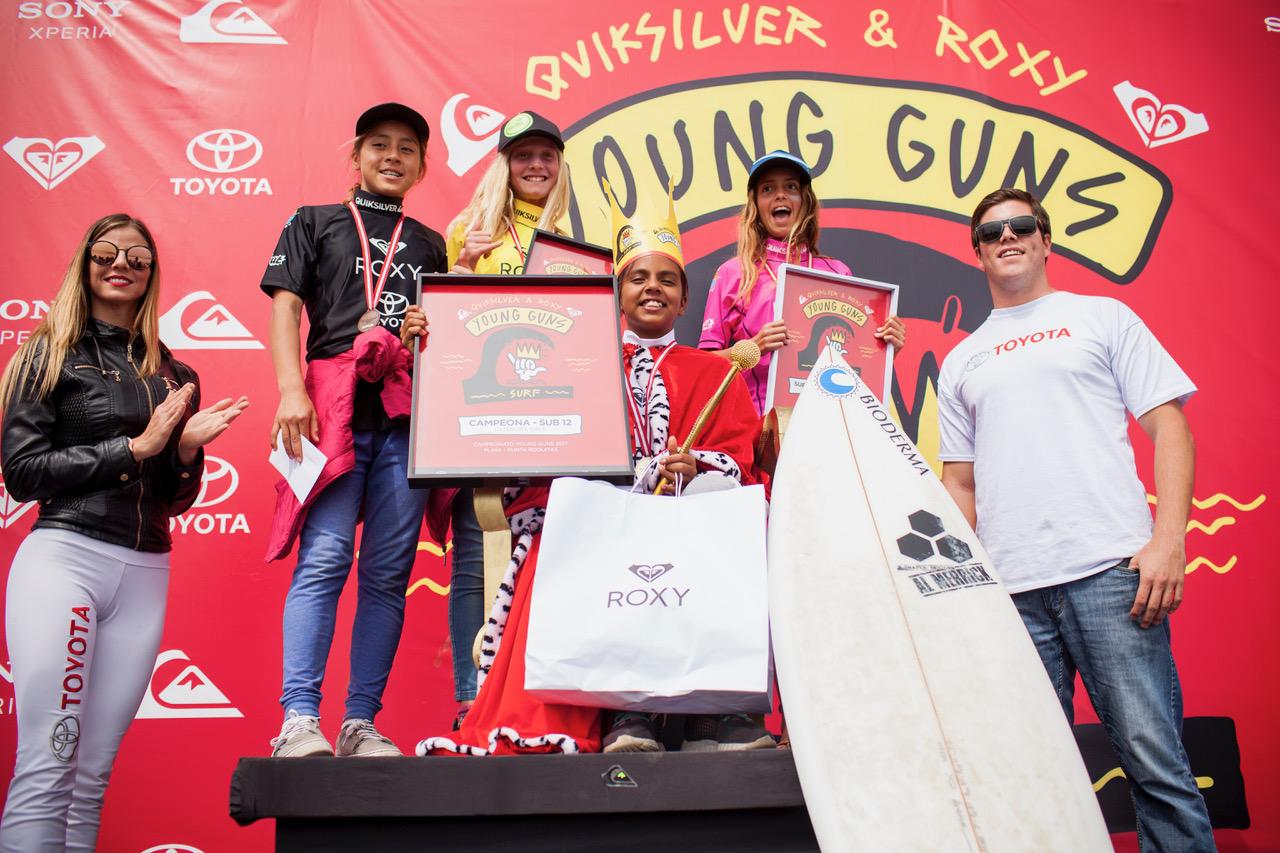 Resultados finales del Quiksilver Young Guns 2017