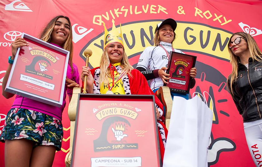 """Video oficial de la Quinta Fecha del Circuito Nacional """"Quiksilver & Roxy Young Guns 2017"""""""