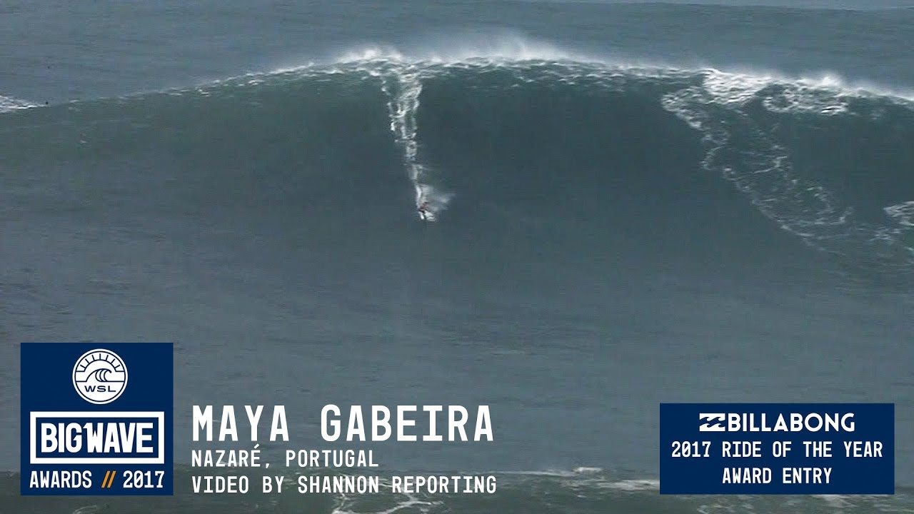 Tres mujeres nominadas a los Big Wave Awards 2018