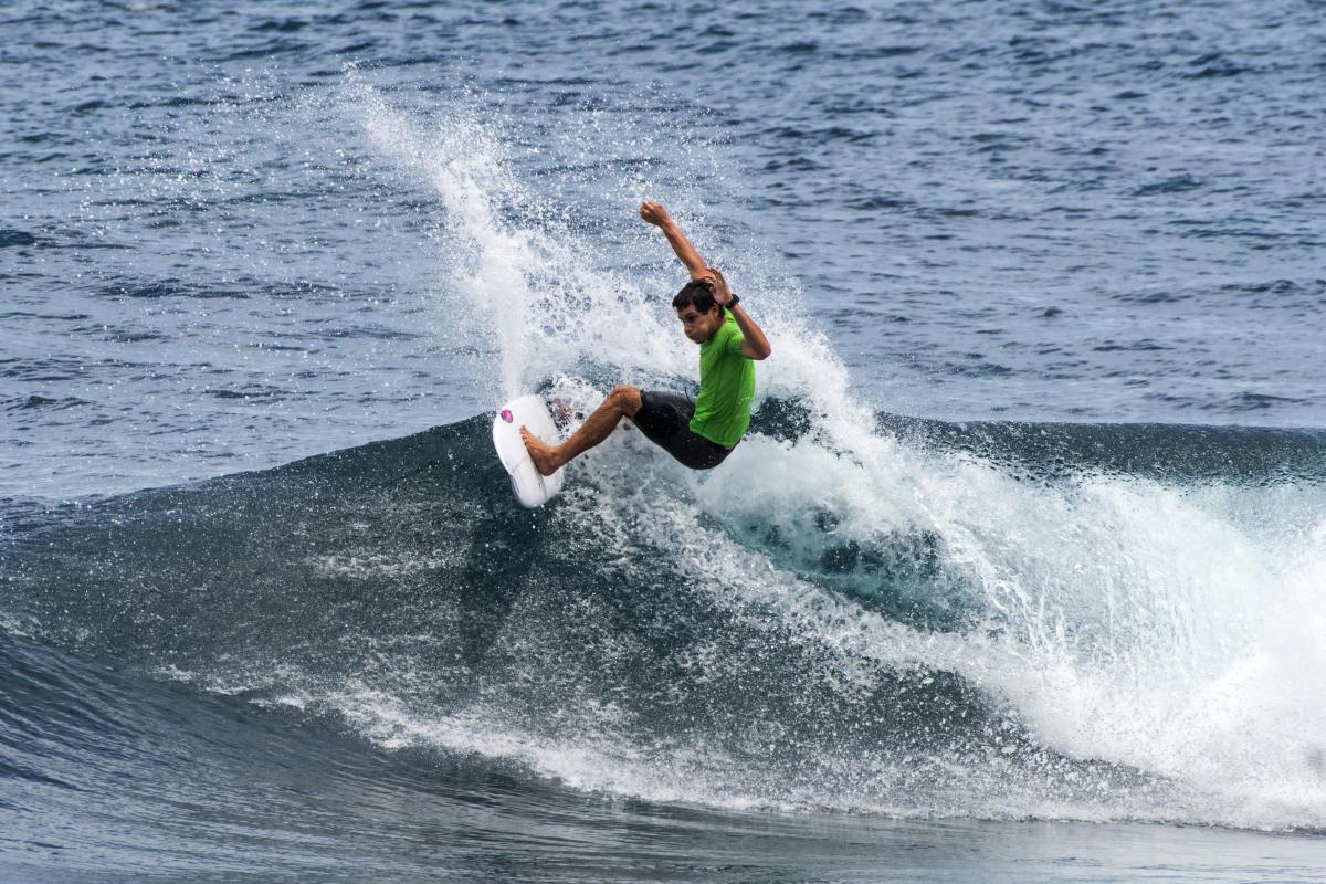 Tomás Tudela y Lucca Mesinas ponen fin a su participación en el Vans World Cup (Hawaii)