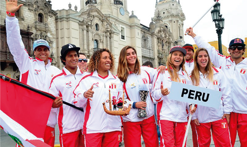 Este es el equipo peruano que nos representará desde hoy en los Juegos Panamericanos de Surf 2017