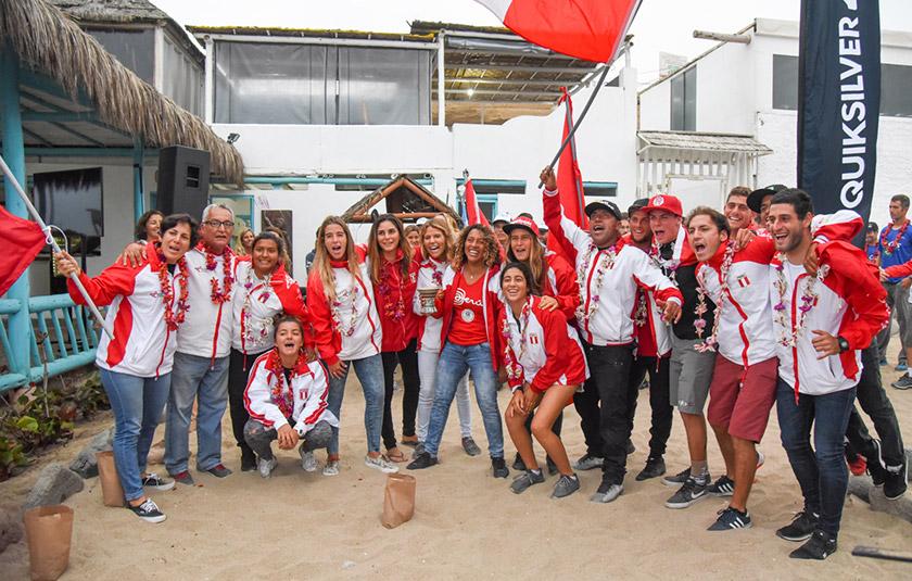 Se realizó la Ceremonia Inaugural de los Panamericanos de Surf