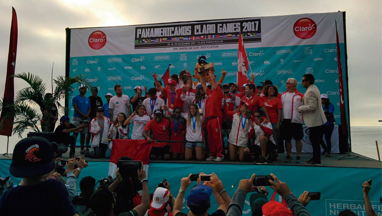 Perú celebra en Punta Rocas por su tercer Panamericano de Surf