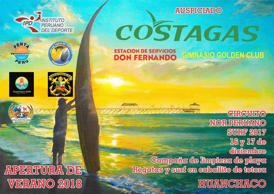 Huanchaco: Circuito Nor Peruano de surf dará inicio a la temporada 2018 este fin de semana
