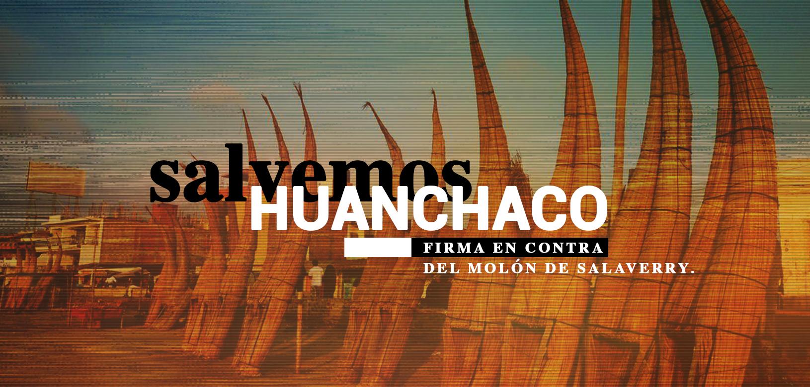 ¡Firma por Huanchaco! Pobladores buscan firmas para desmontar Molón de Salaverry
