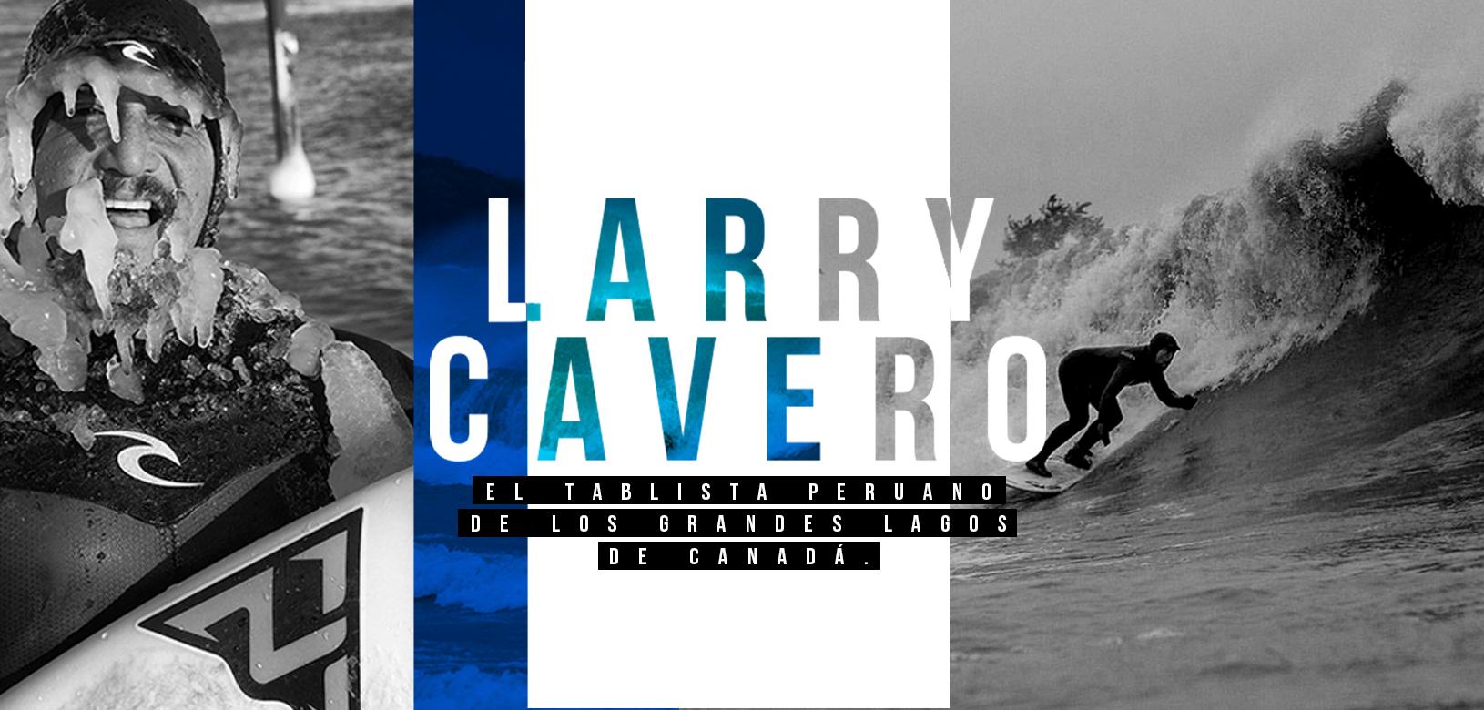 Larry Cavero, el tablista peruano de los Grandes Lagos de Canadá