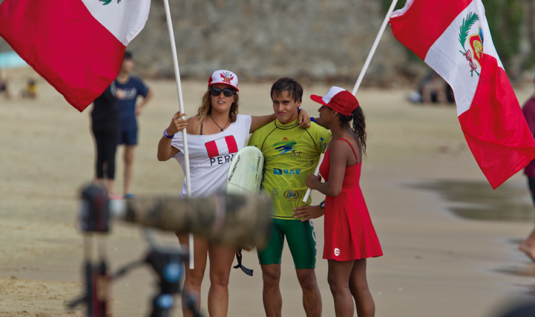 Bronce para Perú en el Aloha Cup del Mundial de Longboard (China)