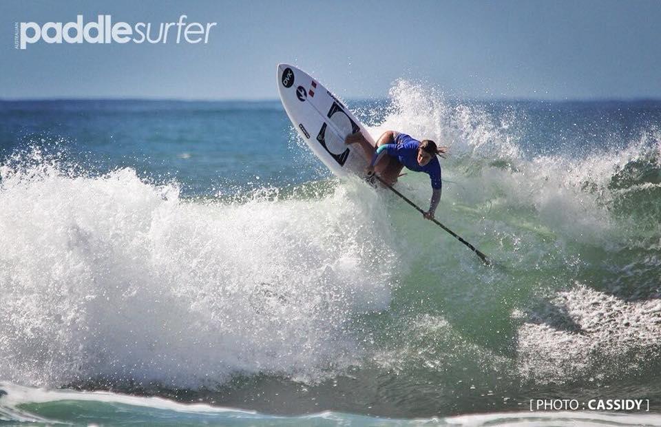 Brissa Málaga consigue tercer lugar en Surfest de Australia