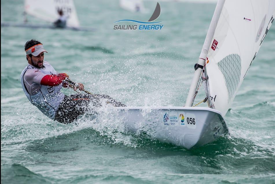 Stefano Peschiera gana dos regatas en Mundial de Vela en Miami