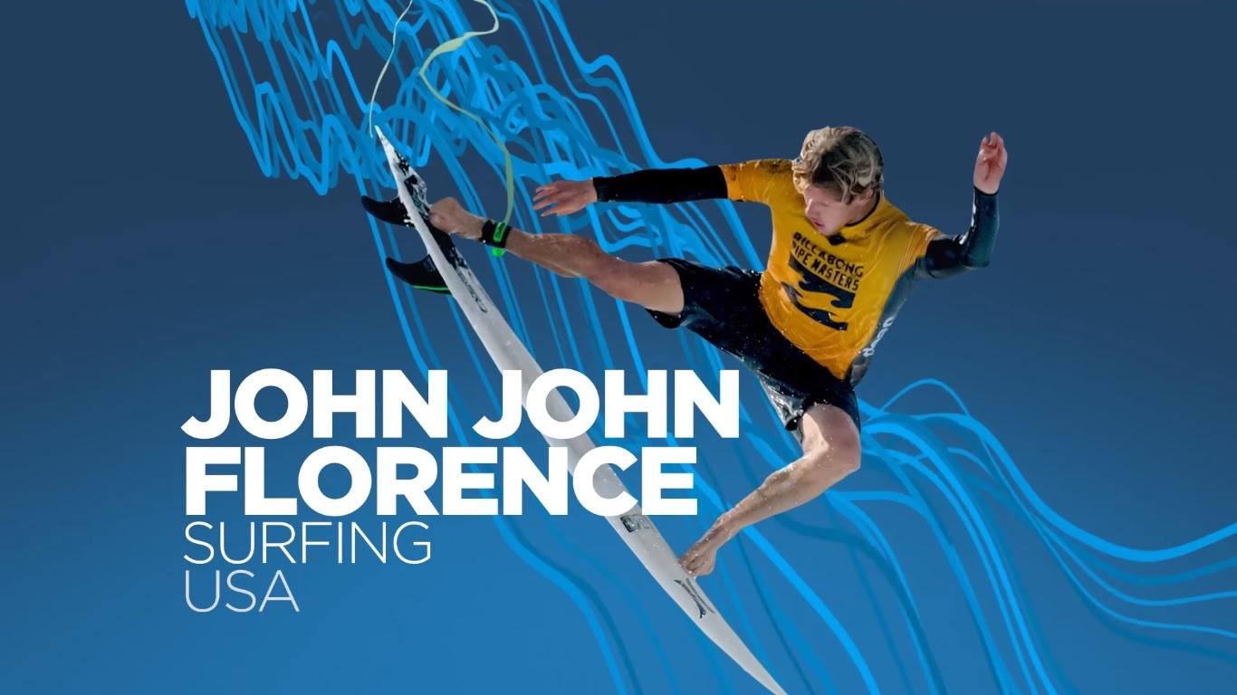 """John John Florence y Tyler Wright nominados a """"deportistas del año"""""""