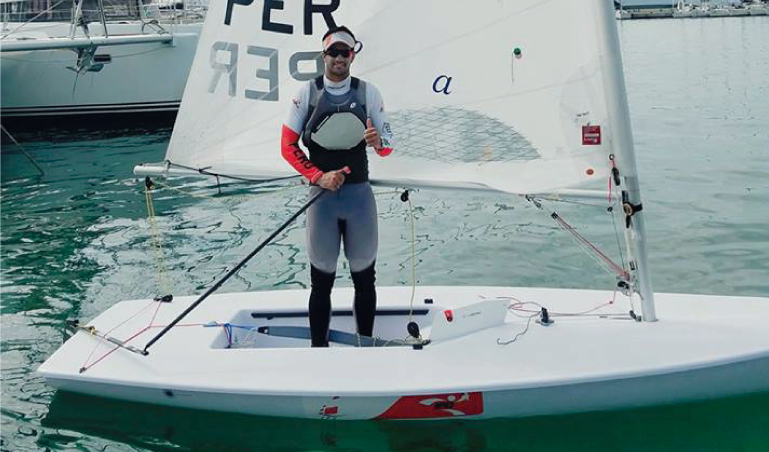 Stefano Peschiera octavo en Mundial de vela en Miami (USA)