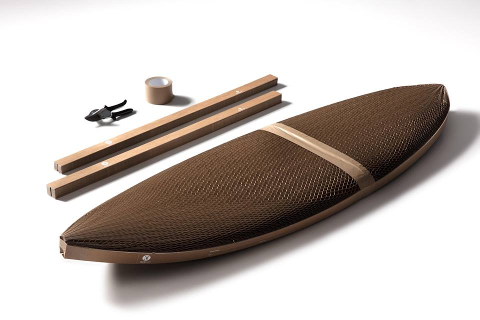 [Industria] Flexi-Hex, una nueva forma de empacar las tablas de surf