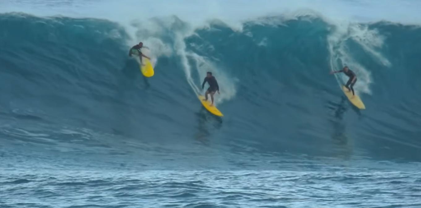 [Video] Waimea también se hizo presente en el festín de olas hawaiano