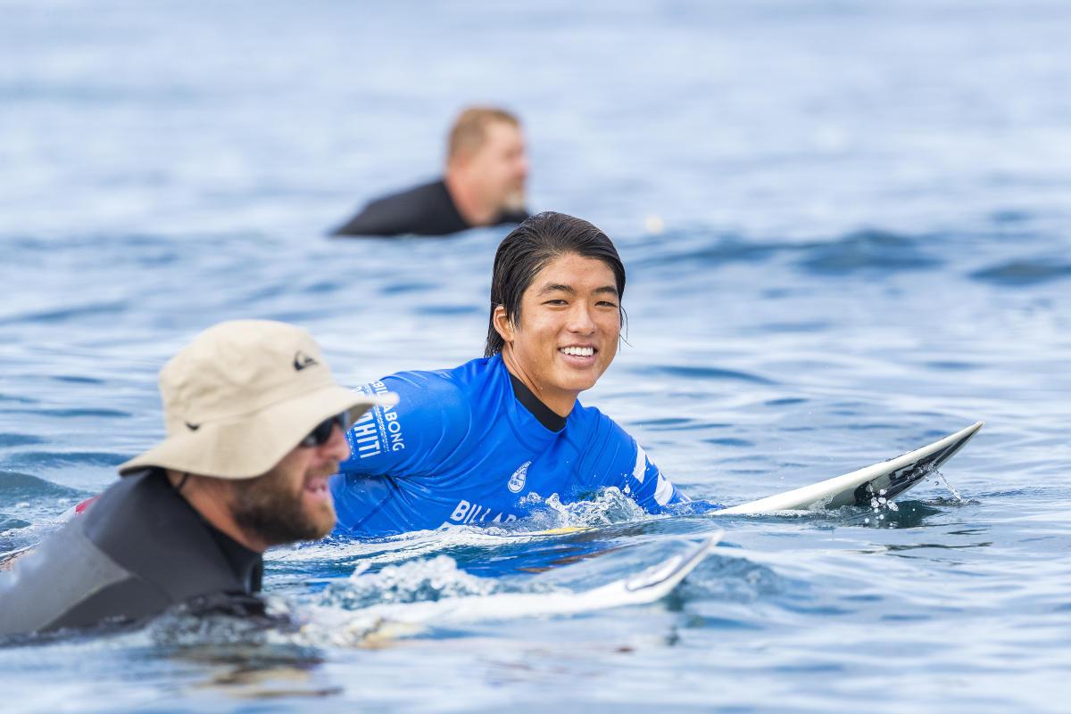 Kanoa Igarashi será el primer representante de Japón en el Tour Mundial 2018