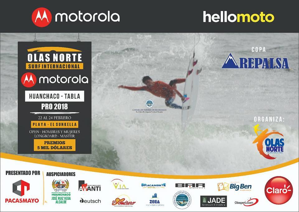Gran expectativa por el Motorola Huanchaco Pro 2018