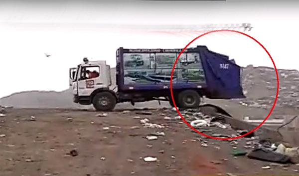 [VIDEO] Nuevo caso de arrojo de basura en playa La Herradura