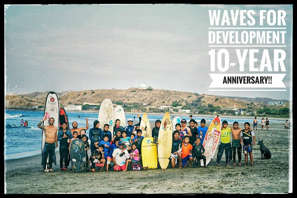 """Wave for Development"" y sus 10 años al servicio de Lobitos"