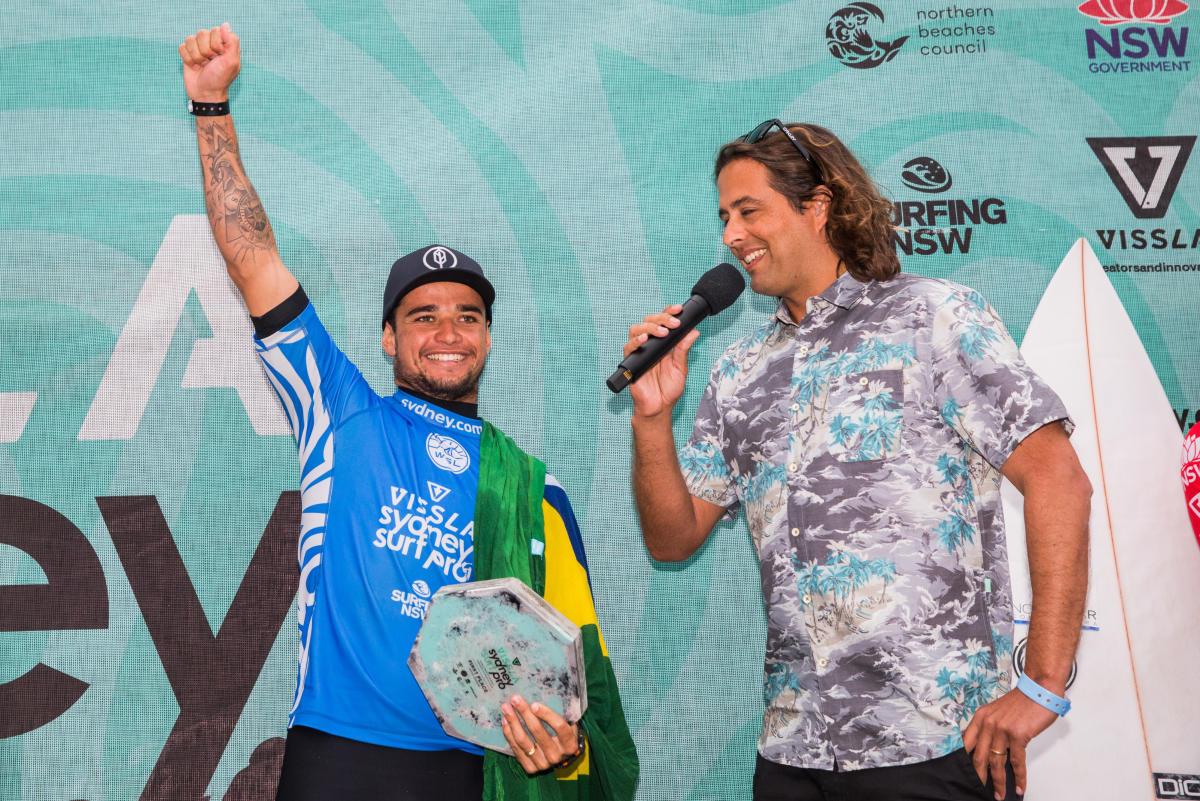 Deivid Silva triunfa en el Vissla Pro 2018 QS6000