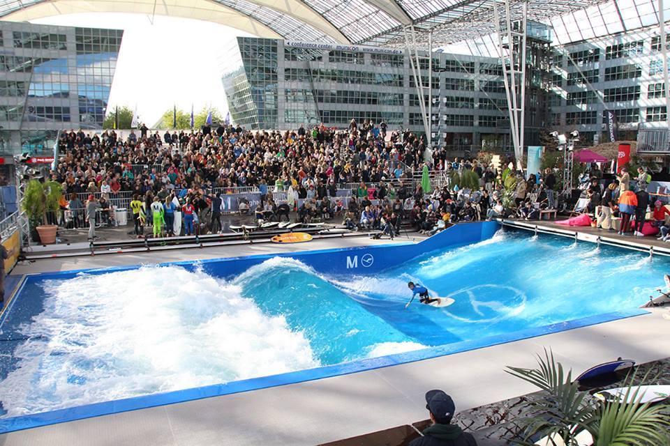 Así es como funciona el Citywave, el centro comercial del surf