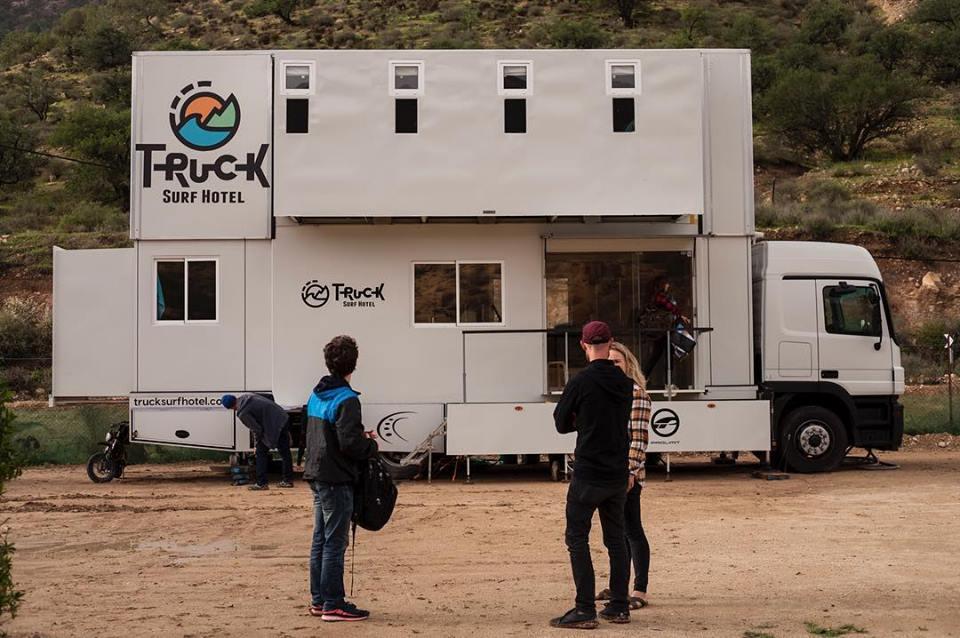 Truck Surf: El camión que es hotel