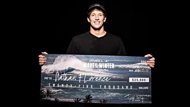 La ola de invierno 2018 es para el hawaiano Nathan Florence