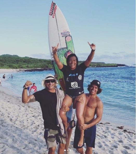 Dominic Barona consigue su segundo triunfo consecutivo en ALAS de Galapagos