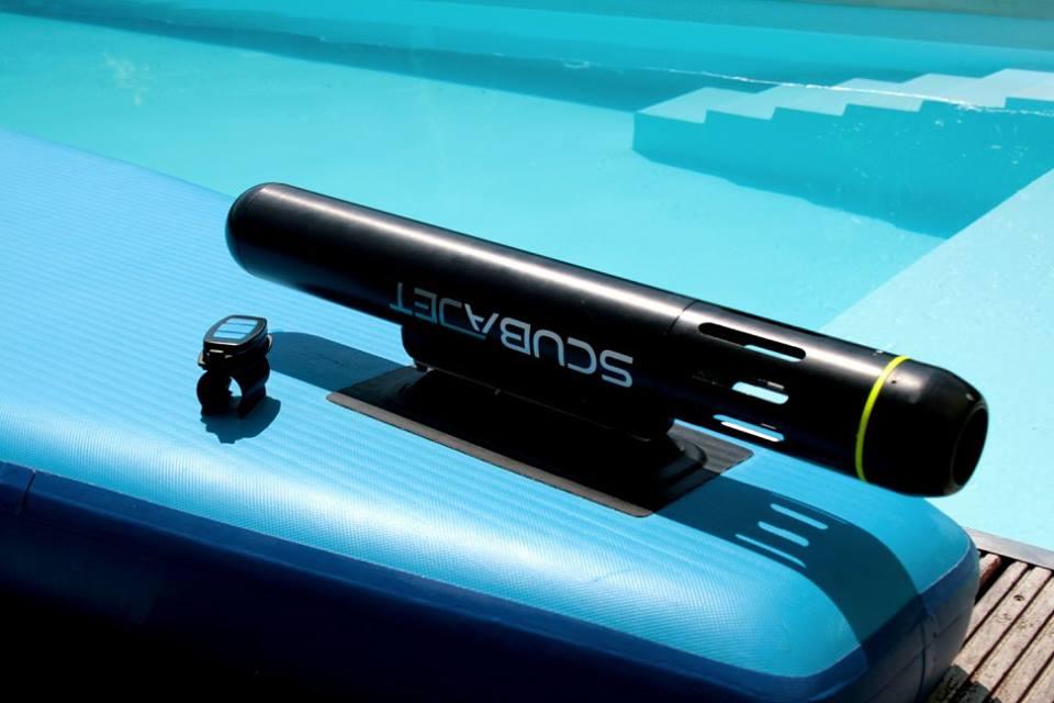 Scubajet, el sistema de propulsión para paddles, canoas y kayaks