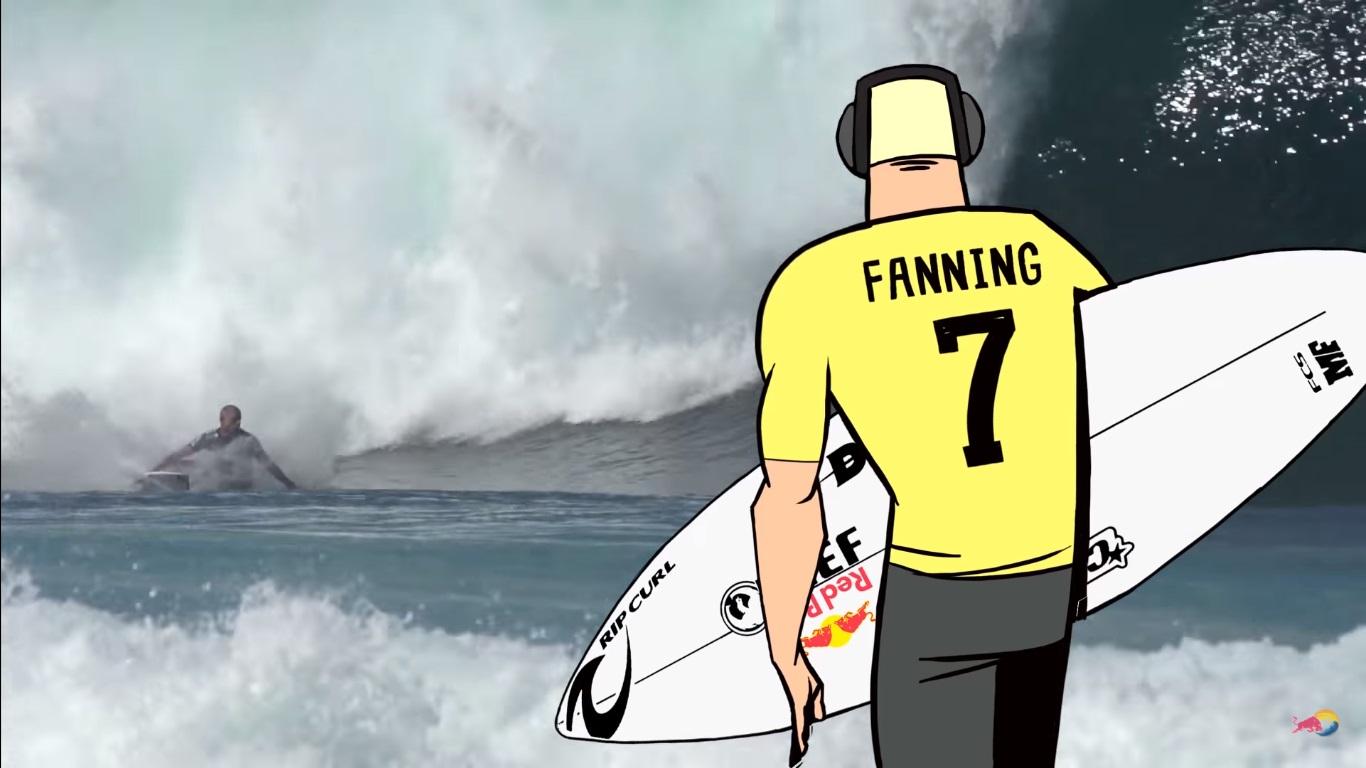 Una visión nunca antes vista de la increíble vida de Mick Fanning