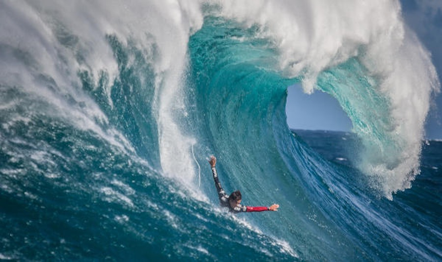 Últimos finalistas al WSL Big Wave Awards 2018