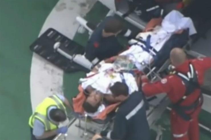 Surfer argentino golpeó a un tiburón a puñetazos para liberarse