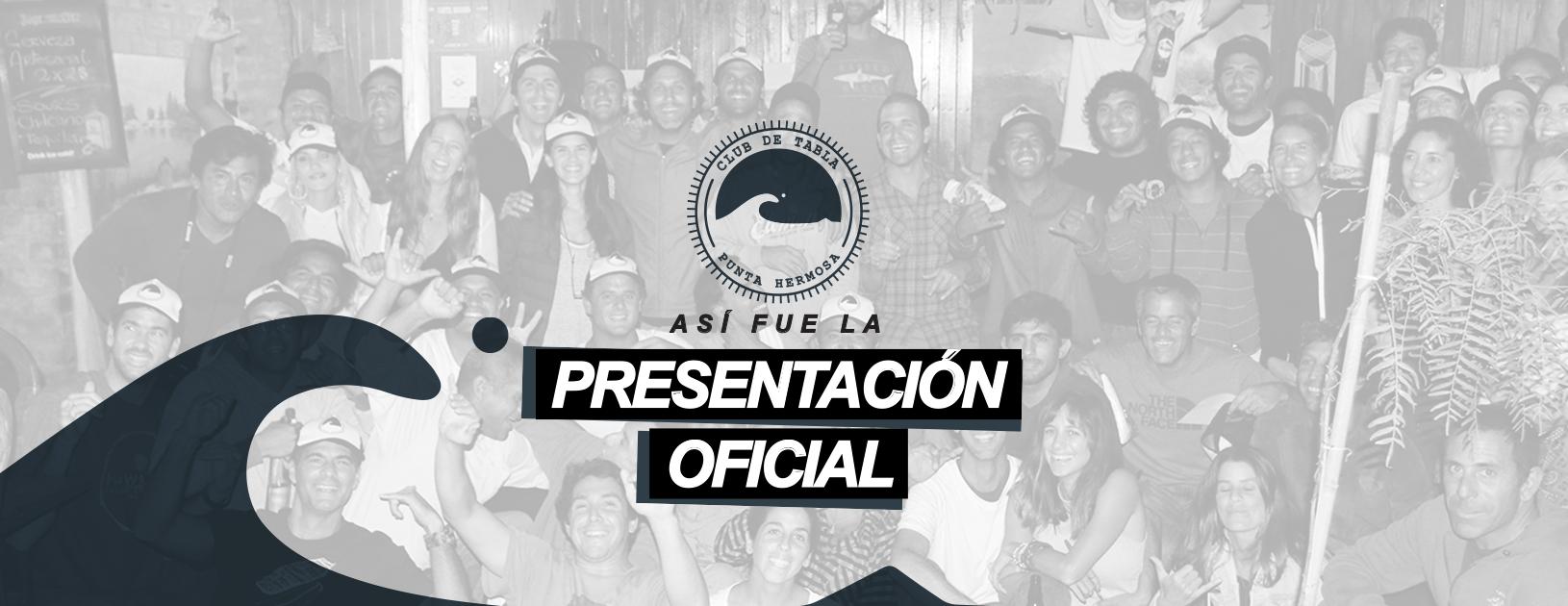 Así fue la presentación oficial del Club de Tabla Punta Hermosa