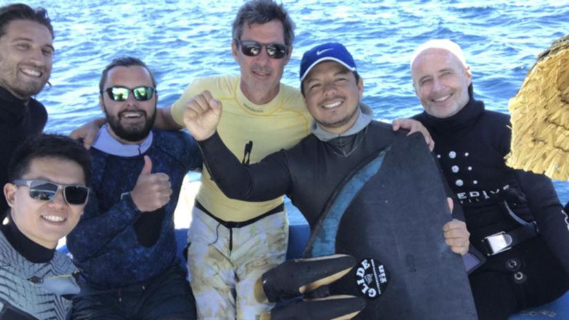 Peruano vuelve a batir récord nacional de APNEA profundidad libre