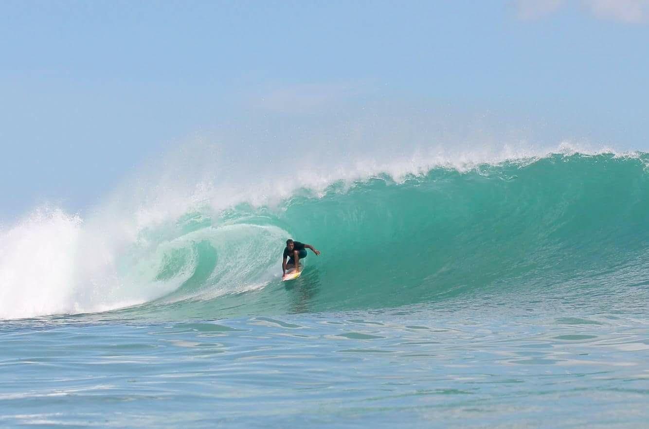 [Portada] Javier Larco dejando huella en Bali