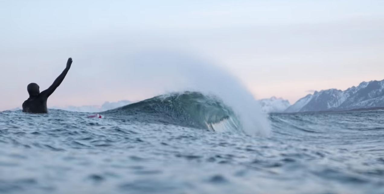 Surfing Noruega. El tesoro escondido de Lofoten
