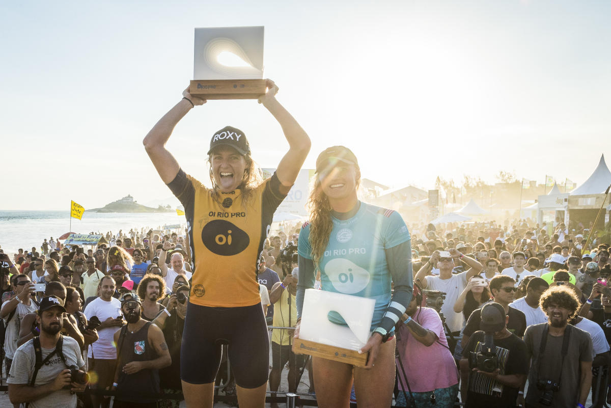 Stephanie Gilmore de Roxy gana el Oi Rio Pro. 6to campeonato que la consolida en la posición de líder mundial