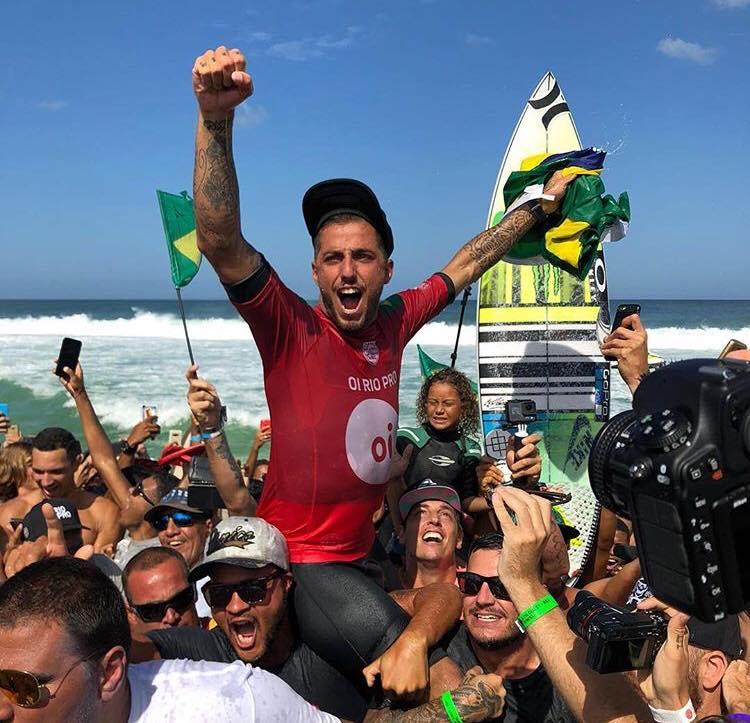 Oi Rio Pro: Filipe Toledo triunfa frente a su público