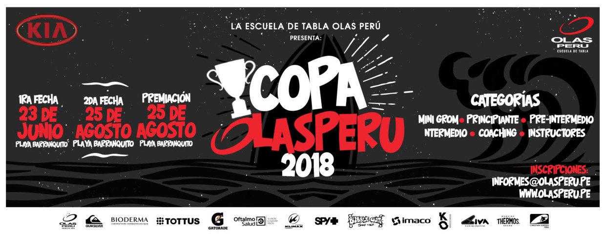 """""""LA COPA OLAS PERÚ"""" CAMPEONATO INTERNO"""